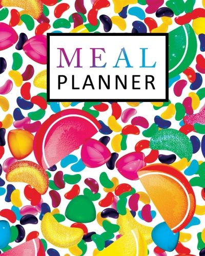 Meal Planner: Weekly Meal Planner with Grocery List, Meal Prep Planner, 52 Week Food Planner, Health Fitness Dieting Diets & Weight Loss, Size 8x10 Inches (52 Week Meal Planning Calendar) (Volume 2)