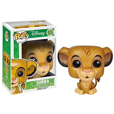 Funko POP! Disney: The Lion King Simba Action Figure: Funko Pop! Disney: Toys & Games