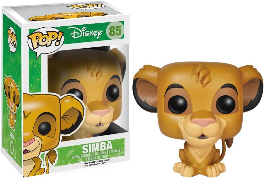 Funko 3885 Lion King 3885 Simba Pop Vinyl Figure: Amazon.es ...