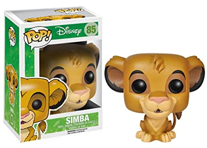 Funko Pop!-El Rey León Disney Vinyl: Lion King: Simba (3885)