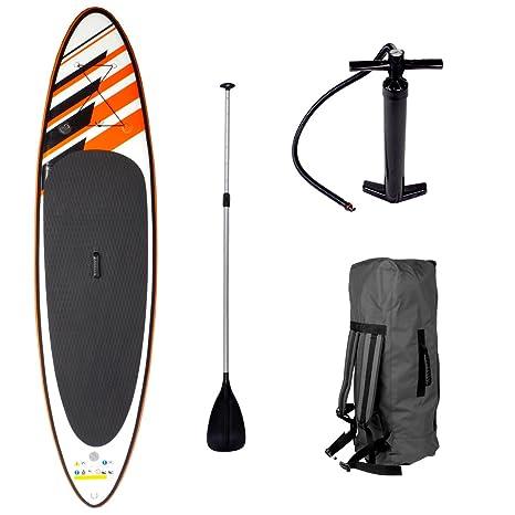 Juego para practicar paddle Shark, de Brast; con tabla de surf de 300 x