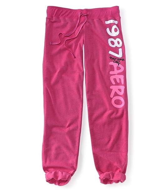 Aeropostale - Pantalón de pijama - para mujer rosa pink66 XS