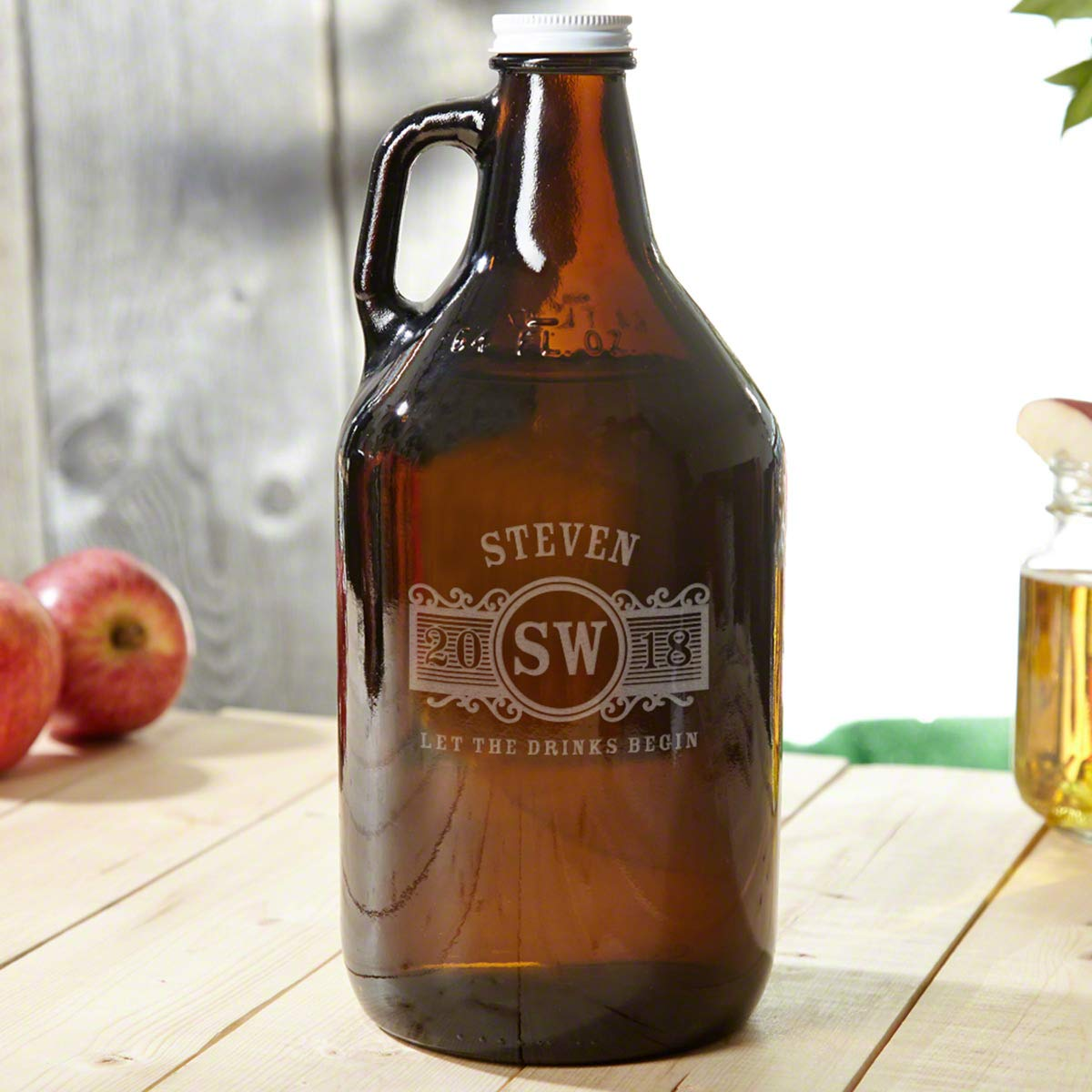 Marquee Amber Beer Custom Growler (Personalized Product)