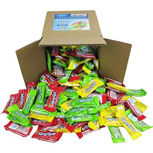Laffy Taffy Assorted Fruit Flavors, Cherry Green Apple Banana Candy Bulk Party Box - 6x6x6 Family Size