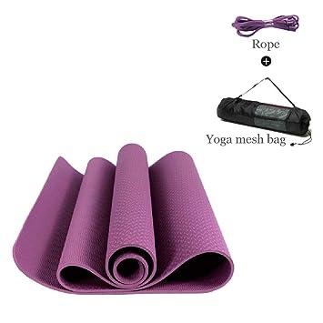 WDXIN Esterilla De Yoga Antideslizante, Respetuoso con El ...
