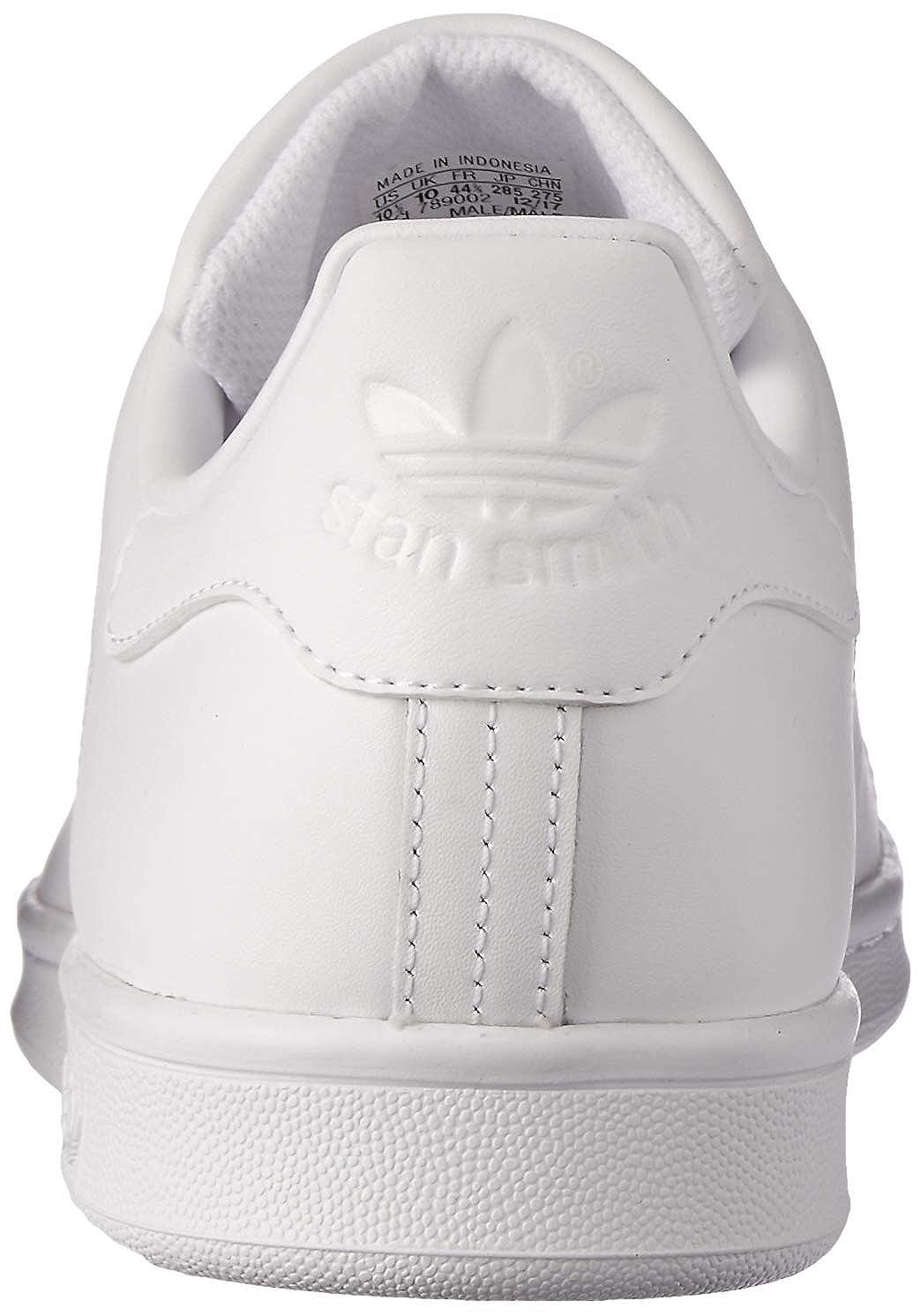 adidas Damen Stan Smith Tennisschuhe Rot Weiß (Ftwr White/Ftwr White/Ftwr White)