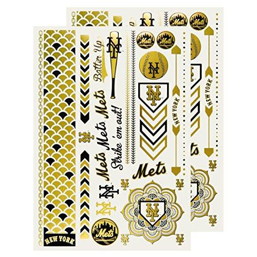 mlb-new-york-mets-metallic-body-jewelry-2-full-sheets-white