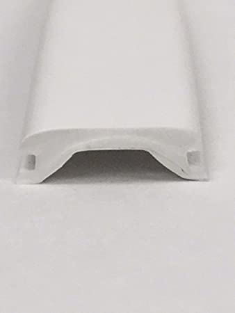 Amazon Com Lpc Rv Camper Trailer 5 8 X 24 White Vinyl Uvf Insert Trim Mold Flexible Screw Cover Automotive