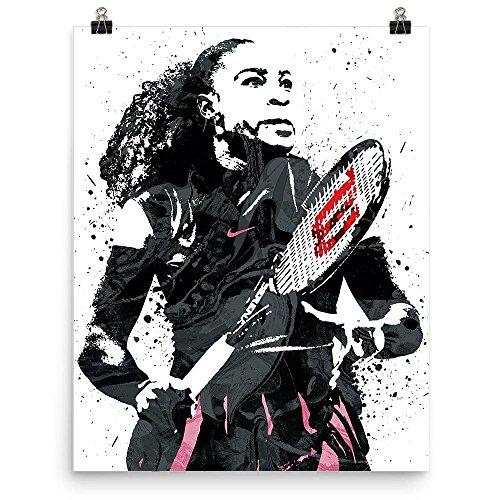 Serena Williams Tennis Poster