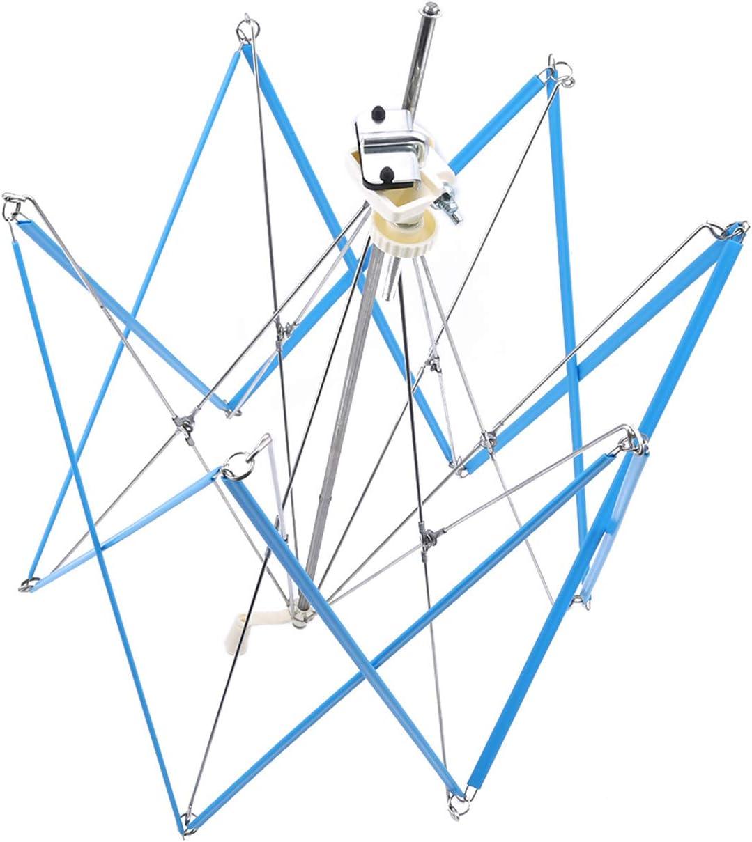 ZALING Swift Garn Fadenfaser String Wolle Wickler Halter Regenschirm Stricken Handwerkzeuge