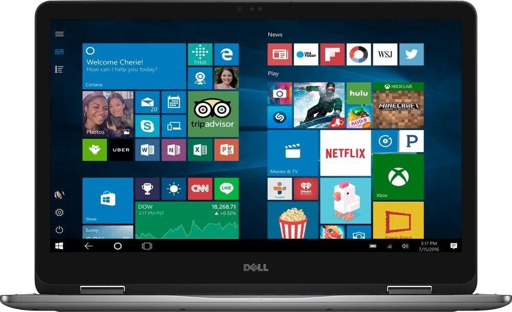 Dell Inspiron 17 7000 2-in-1 7773 - 17.3in Touch - i7-8550U - MX150 - 16GB - 512GB SSD (Renewed)