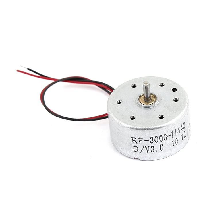 GLE2016 1700-7300RPM 1.5-6.5V High Torque Cylinder Electric Mini DC Motor