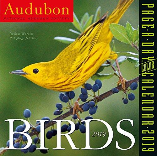 Wildlife Desk Pad Calendar - Audubon Birds Color Page-A-Day Desk Calendar 2019 [6