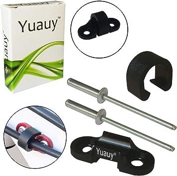 Yuauy - Guía de Cables para Bicicleta de montaña con 2 Remaches ...