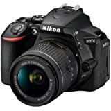 Nikon D5600 DSLR with 18-55mm f/3.5-5.6G VR and 70-300mm f/4.5-6.3G ED (Renewed)