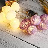 Easter Egg Lights, Glumes LED String Lights with 10 Led/1.8M Battery Powered Decorative Lights for Mother's Day, Birthday, Holiday, Wedding, Party, Kids Room, Home Decoration