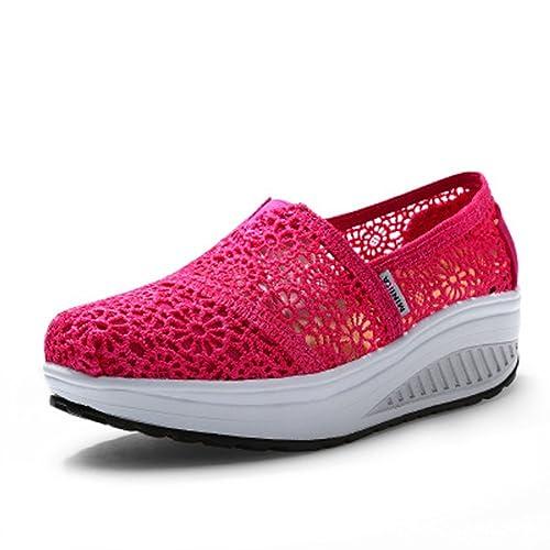 Solshine - Plataforma Mujer , color rosa, talla 38 EU