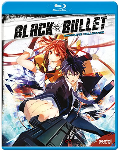 Blu-ray : Black Bullet (Anamorphic, Subtitled, 2PC)