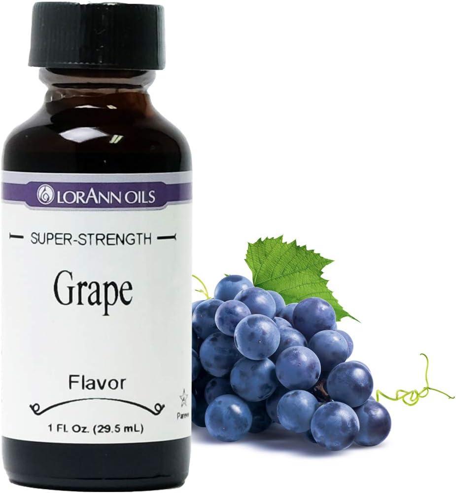 LorAnn Grape Super Strength Flavor, 1 ounce bottle