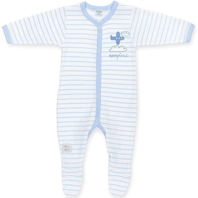 Pelele Ropa de Batista Mono Talla 52 (0-1 Mes) Pijama Ropa para Dormir Ropa para Hospital 100% algodón racién Nacido niño Manga Larga: Amazon.es: Ropa y ...