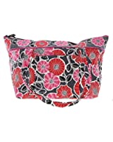 Vera Bradley Miller Bag Duffle Bag Shoulder Bag in Cheery Blossoms