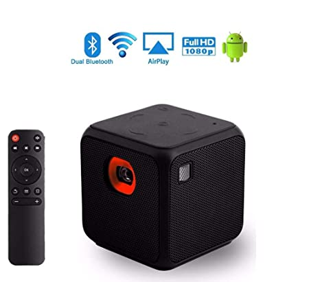 AI CHEN Cube Mini DLP Proyector proyector Android Teatro en ...