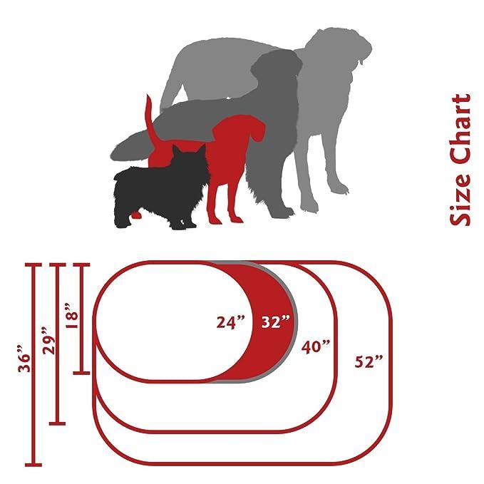 Bagel perro cama de Majestic mascota productos: Amazon.es: Productos para mascotas