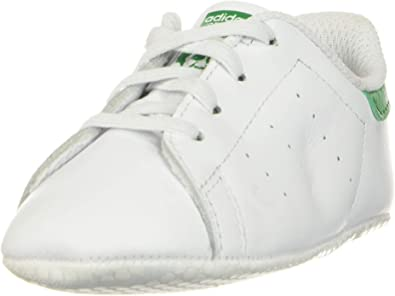 adidas Originals Unisex-Child Stan Smith Crib Sneaker