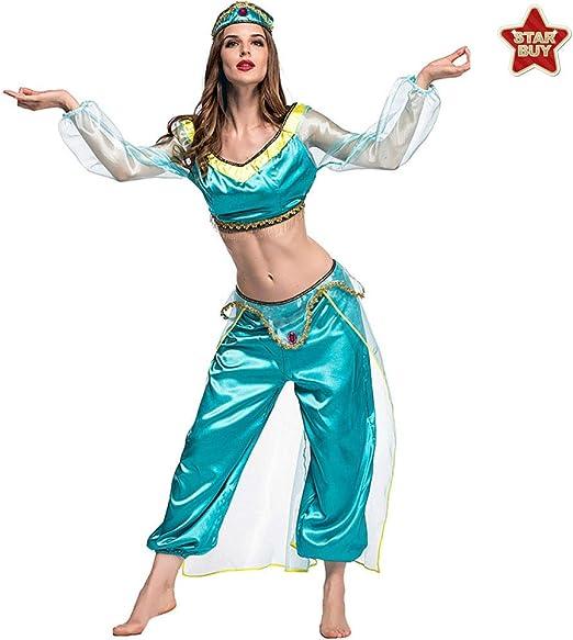 COSOER Disfraz De Cosplay árabe De Lámpara Mágica Espectáculo De ...