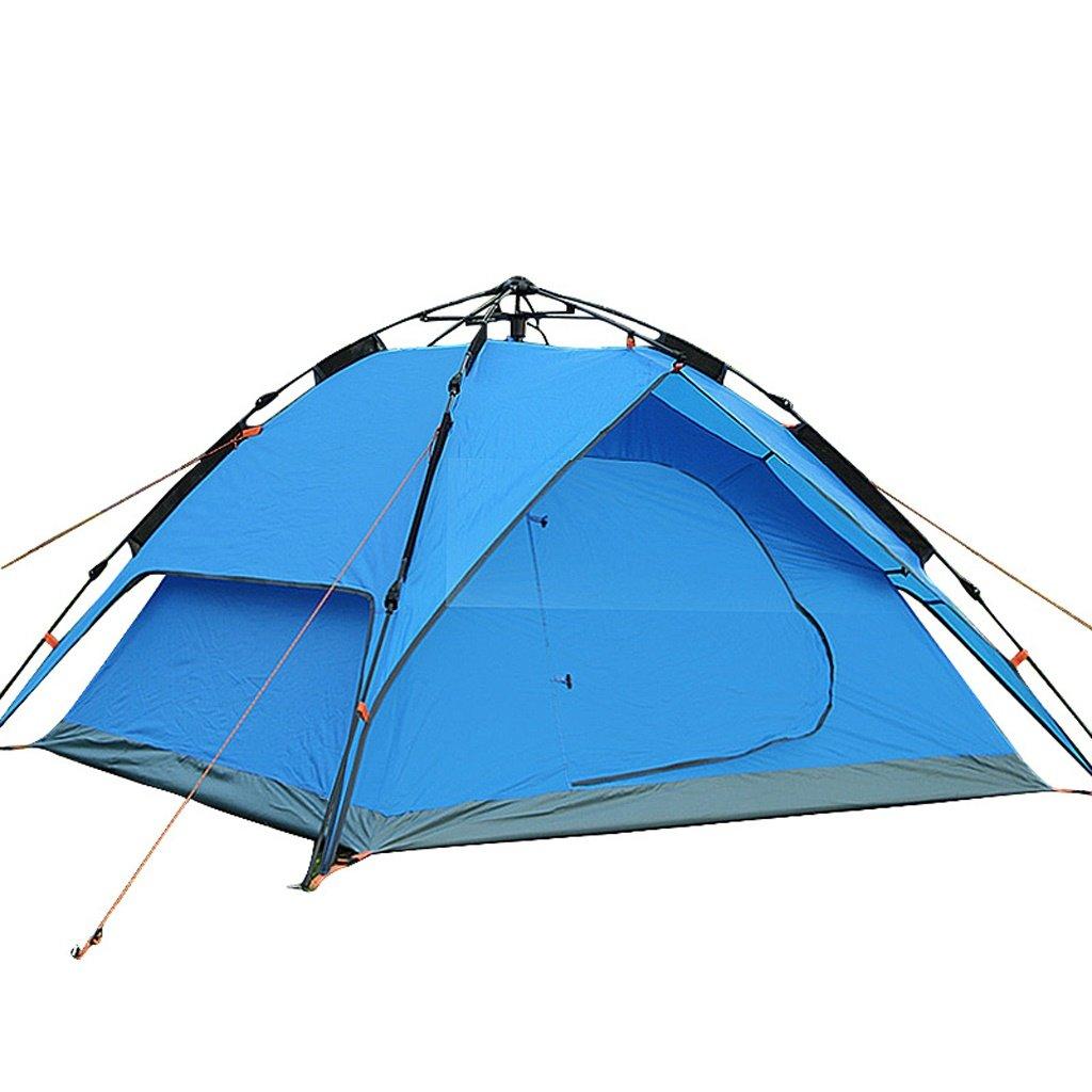 PIGE Outdoor Automatik Zelt 3-4 Personen Double Layer Double Door Free BAU Camping Wasserdichte Zelt 205  185  120cm
