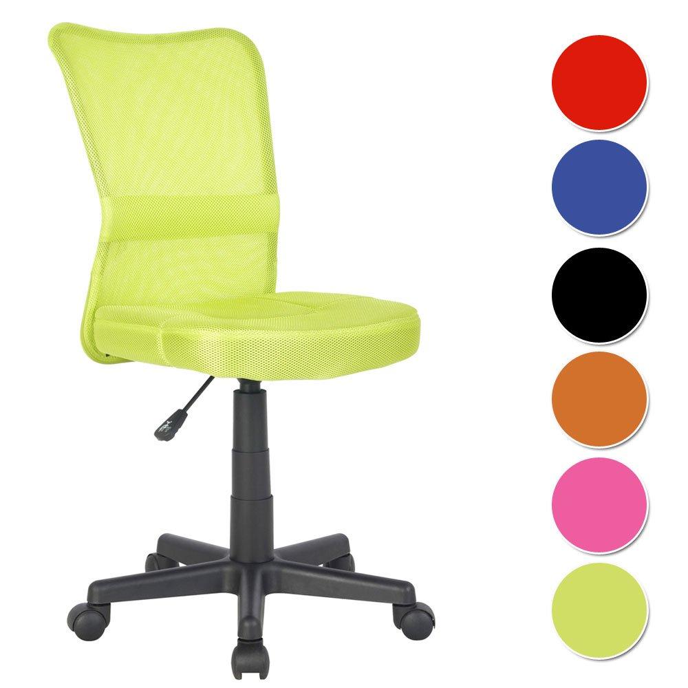 SixBros. Chaise de Bureau Vert - H-298F/2066 product image