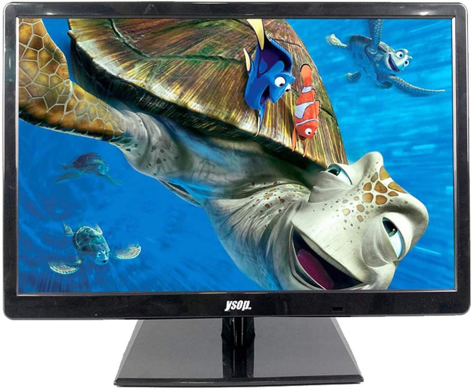 GGPUS 19 Pulgadas LED LCD Monitor, Ministerio del Interior, Escritorio Monitor, resolución HD, Panel HD, TV Integrado, Pantalla Ancha: Amazon.es: Hogar