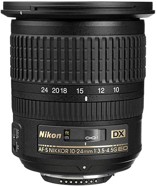 Nikon Af S Dx Nikkor 10 24 Mm 1 3 5 4 5g Ed Lens Black Camera Photo