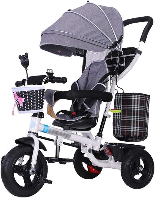 Carrito para niños Trike Bike 4 en 1 Cochecito de bebé con arnés ...