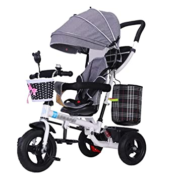 Carrito para niños Trike Bike 4 en 1 Cochecito de bebé con ...