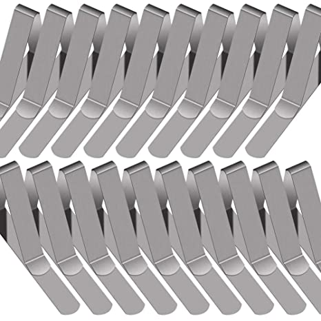 Prime Paxcoo 30 Packs Tablecloth Clips Stainless Steel Table Cover Clamps Beutiful Home Inspiration Cosmmahrainfo
