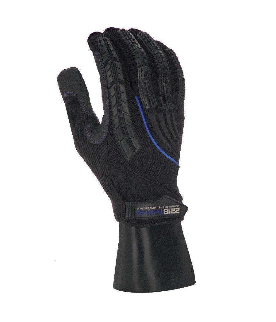 (221Bタクティカル) 221B Tactical Guardian 手袋 レベル5 切れにくい B074ZN349T X-Small|Blue-Line Blue-Line X-Small