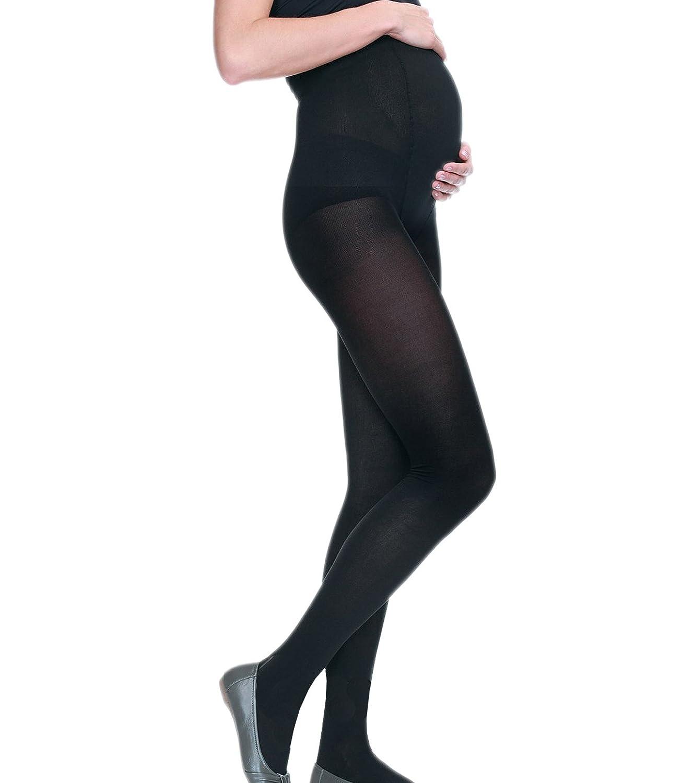 Italiana Damen Schwangerschafts-Strumpfhose blickdichte Umstandsstrumpfhose 80DEN Umstandsmode Maternity Italiana IT2480