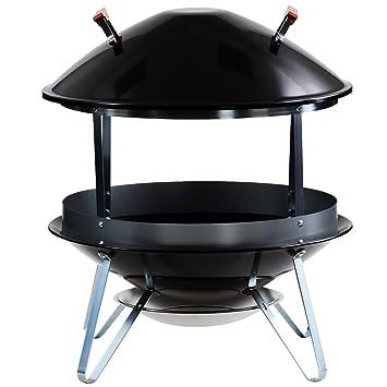 Amazon.com : Weber 2726 Wood Burning Fireplace : Outdoor ...