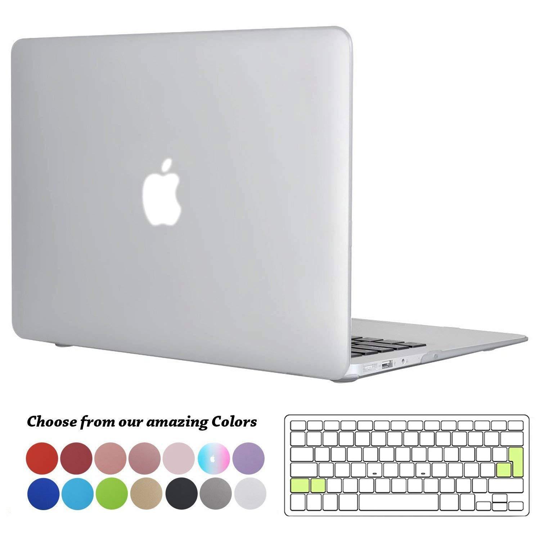 Slim Plastik Hartschale Schutzh/ülle Cover mit Transparent EU Tastaturschutz f/ür Apple MacBook Pro 15 Zoll mit Touch Bar Modell Klar A1990// A1707 TECOOL MacBook Pro 15 H/ülle 2018//2017//2016 Case