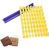 Outil de bricolage pour gaufrer biscuits et cookies avec des chiffres et des lettres
