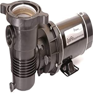 Pentair 347998 OptiFlo Vertical Discharge Aboveground Pool Pump with CSA and 25-Feet Cord, 1-1/2 HP
