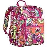 Vera Bradley Lighten Up Large Backpack Pink Swirls