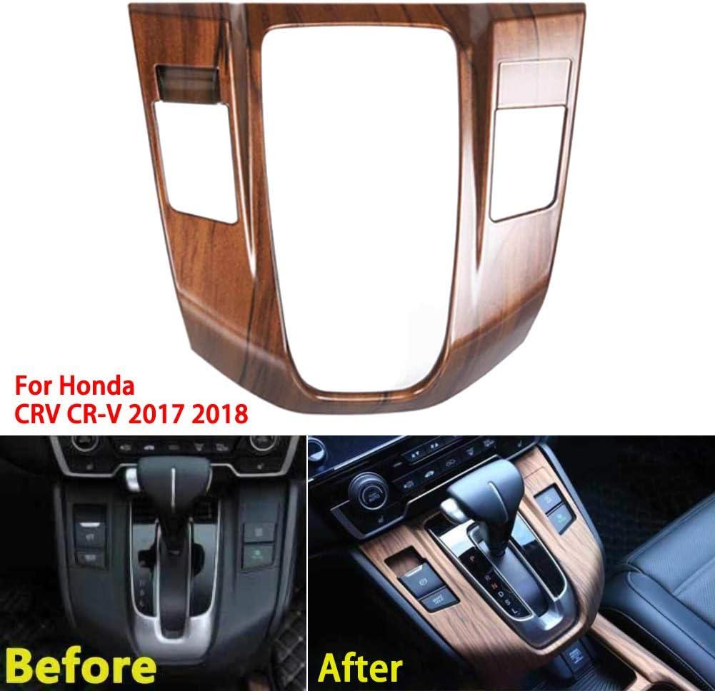 housesweet Innenaufkleber f/ür Schalttafelverkleidung Konsolensteuerung Medienverkleidung Verkleidung f/ür Honda CRV CR-V 17-2019