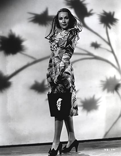 84959fd52 Image Unavailable. Image not available for. Color  Dolores Del Rio Posed in  White Furry Dress Photo Print ...