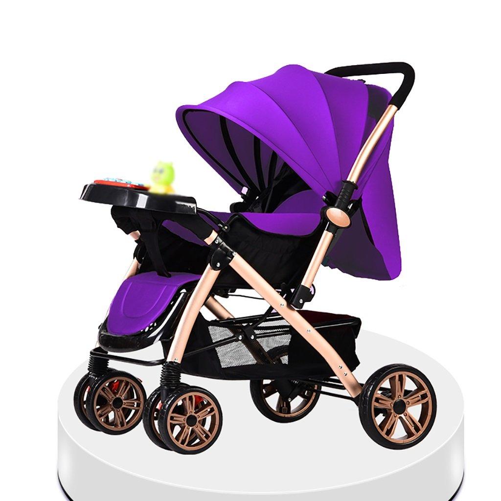 ベビーキャリッジ、折りたたみ自転車ベビーキャリー、ポータブルベビーベビーカー、1ヶ月から4歳までのベビーカーのトロリー、子供の歩行車 (色 : C) B07CZCSBPK C C
