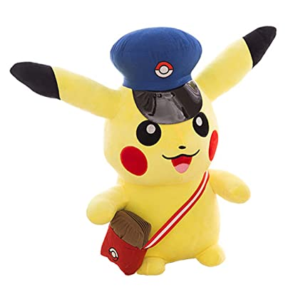Pikachu Plush Toy Anime Plush Toys Childrens Gift Toy Kids Cartoon Peluche Pikachu Plush Doll