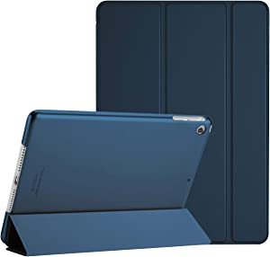 ProCase Smart Case for iPad Air 1st Edition, Ultra Slim Lightweight Stand Protective Case Shell with Translucent Frosted Back Cover for Apple iPad Air 2013 Model (A1474 A1475 A1476) -Navy
