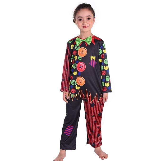 Amazon.com: Tao-Ge Disfraz de payaso para niños, Halloween ...