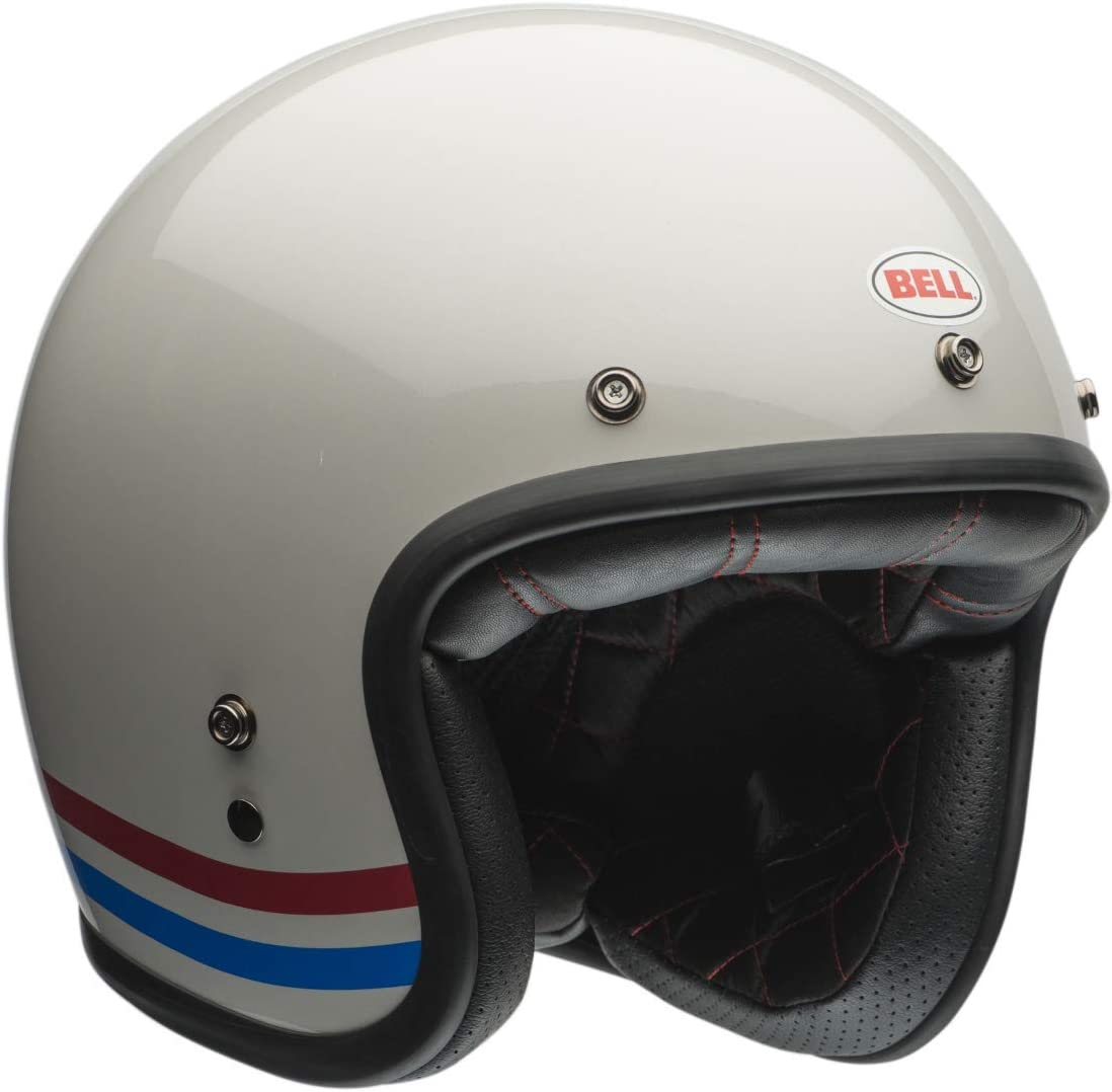 Bell Powersports Custom 500 Motorradhelm Schwarz RSD Check It XXL